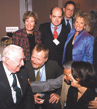Walter Cronkite and group